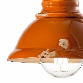 conception de lustre en céramique faits à la main Vintage Cameron Ferroluce
