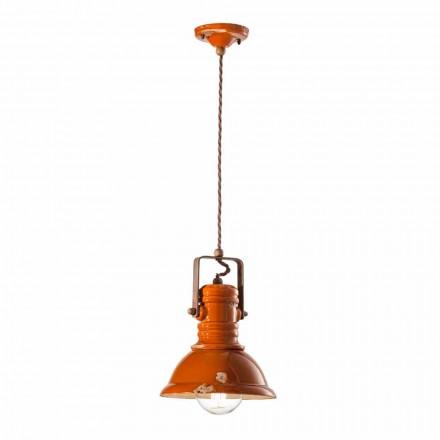 Lampe vintage de design en céramique artisanal Cameron Ferroluce