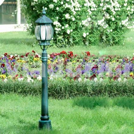 Lampadaire de jardin en aluminium moulé sous pression, fabriqué en Italie, Anika