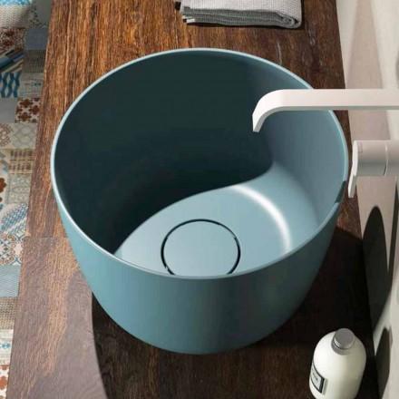 Lavabo de comptoir fabriqué en Italie Lallio, design moderne