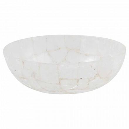 Lavabo de salle de bain en pierre design - Baceno