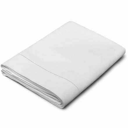 Draps en Pur Lin Couleur Blanc Créme Made in Italy – Chiana