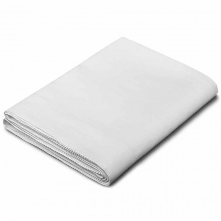 Draps Doubles, Simple et une Place et½ en Lin Blanc Made in Italy – Blessy