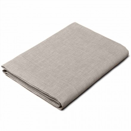 Drap Simple, Double et une Place et ½ Lin Naturel Made in Italy – Chiana