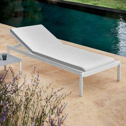Chaise longue de jardin avec ou sans matelas de haute qualité - Filomenalet