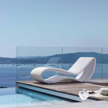 Chaise longue de jardin Breez 2.0, design moderne