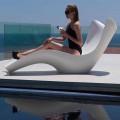 Bain de soleil moderne en polyéthylène, Surf by Vondom, 2 pièces