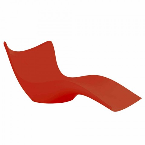 Lit de jardin Surf by Vondom, design moderne en polyéthylène