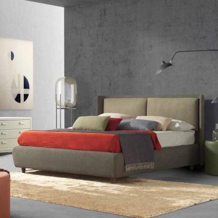 Lit double avec conteneur de lit, design moderne, Kate by Bolzan