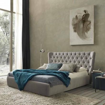 Lit double avec conteneur de lit, design contemporain Selene Bolzan