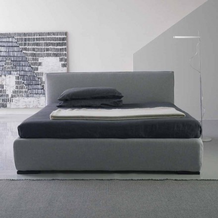 Lit double moderne, sans panier de lit, Gaya New by Bolzan