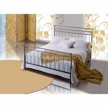 Un lit et une demi-carré Fer Forgé Héphaïstos