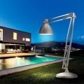 Leucos The Great JJ lampadaire pour extérieurs en aluminium de design