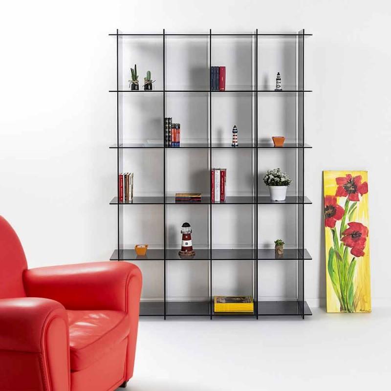 Dans Bibliothèques design moderne fumé Plexiglas Sfera4