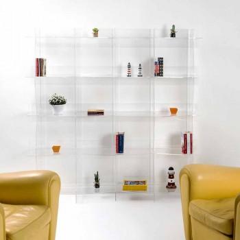 autoportants bibliothèque / mur design moderne Pam transparent