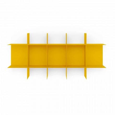 Bibliothèque murale design modulaire en métal de haute qualité - Roger