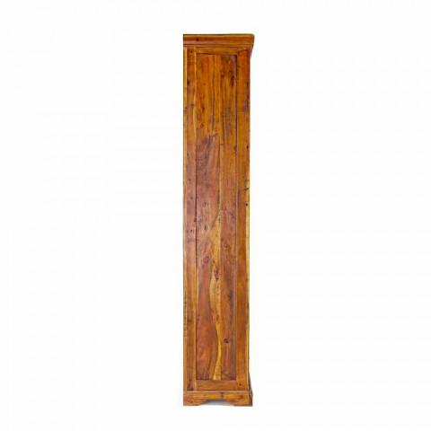 Bibliothèque de sol design classique en bois d'acacia massif Homemotion - Umami