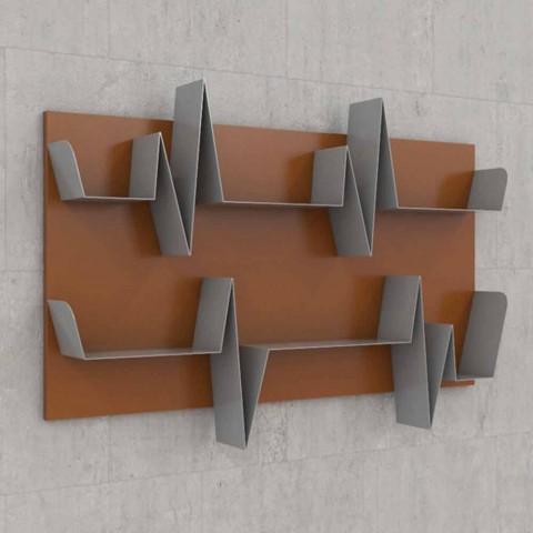 Bibliothèque de conception Battikuore 130x87 (2 étagères) Mabele
