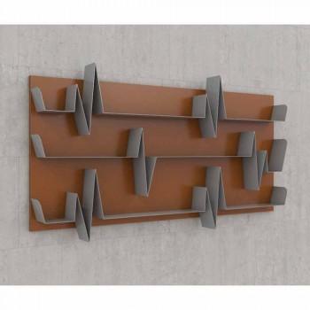 Bibliothèque de conception Battikuore 186x101 (3 étagères) Mabele