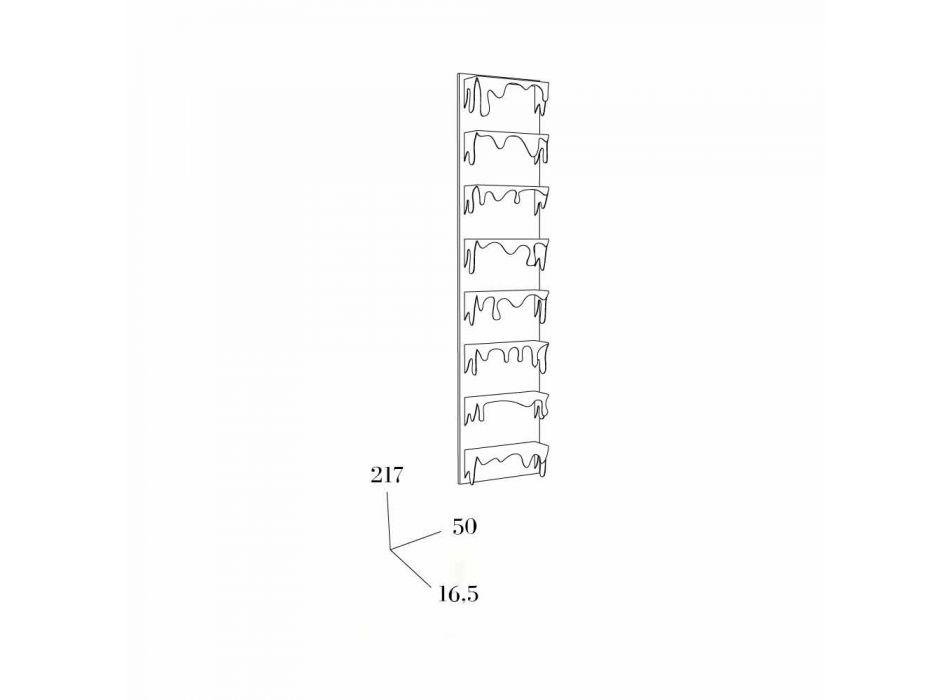 Bibliothèque de conception Kolata 50x127 (8 étagères) Mabele