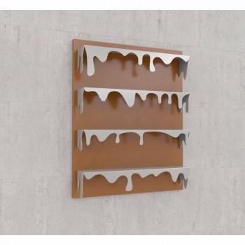 Bibliothèque de conception Kolata 90x110 (4 tablettes) Mabele