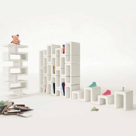 Bibliotèque de design moderne Sisma faite en Italie