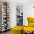 Bibliothèque sur pied à fixer au mur de design Zia Bice