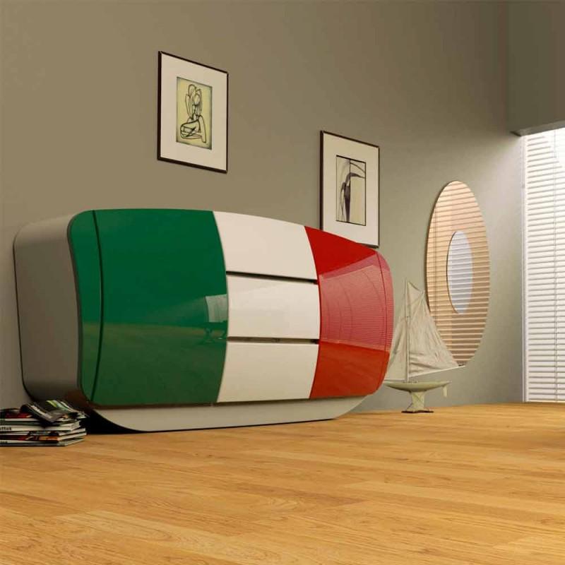 Madia design moderne entièrement réalisée en Italie Boom