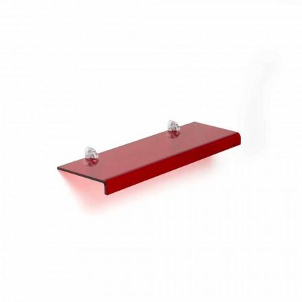Étagère de design moderne italien méthacrylate L90xP15 cm Jack