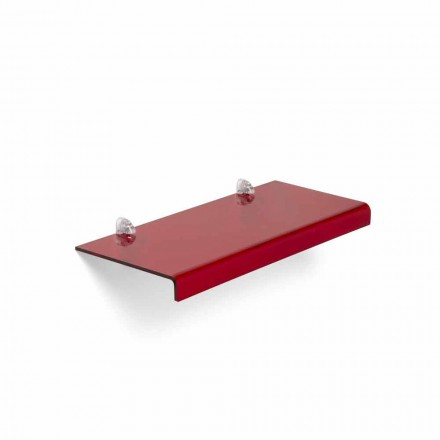 Étagère de design moderne  italien en méthacrylate L90xP22 cm, Polly