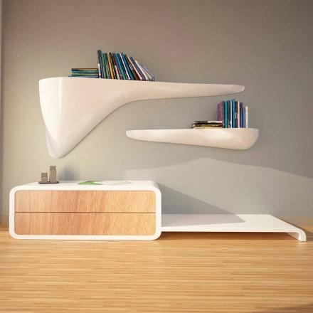 Etagère design moderne produite en Italie, Sizzano