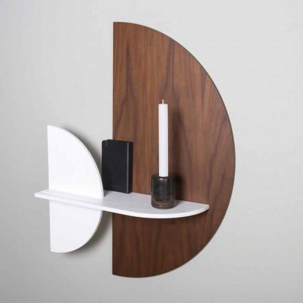 Étagère modulaire au design élégant et moderne en contreplaqué peint - Amnesia