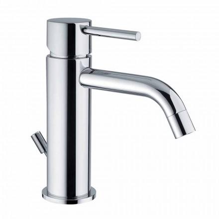 Mitigeur de lavabo en laiton chromé Design moderne Made in Itlay - Liro