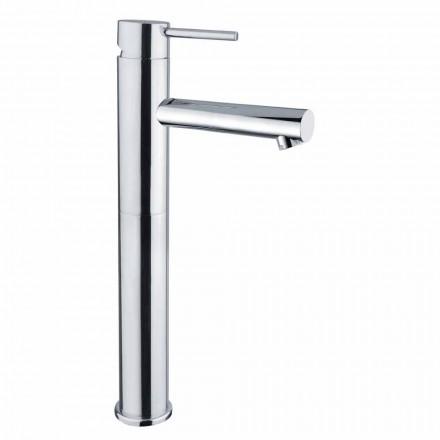 Mitigeur lavabo allongé en laiton sans drain Made in Italy - Ermia