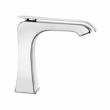 Mélangeur de lavabo en laiton moderne fabriqué en Italie - Bonina