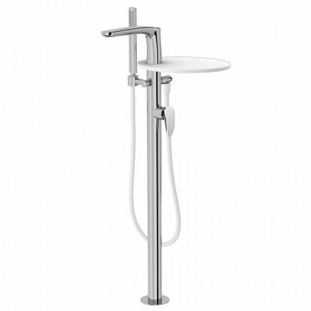 Mitigeur de baignoire en laiton de design Made Italy - Benello