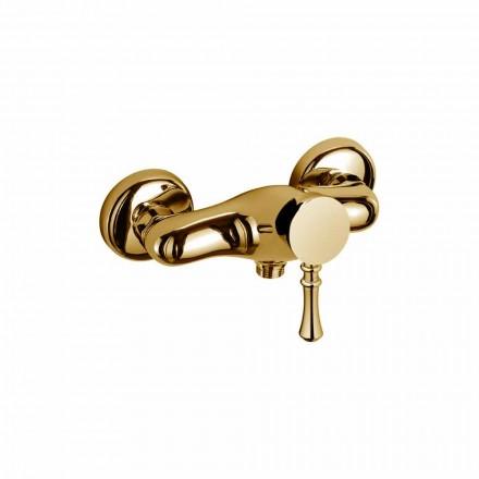 Mitigeur design pour douche extérieure en laiton Made in Italy - Neno