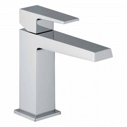 Mitigeur de lavabo avec drain au fini chrome fabriqué en Italie - Galla