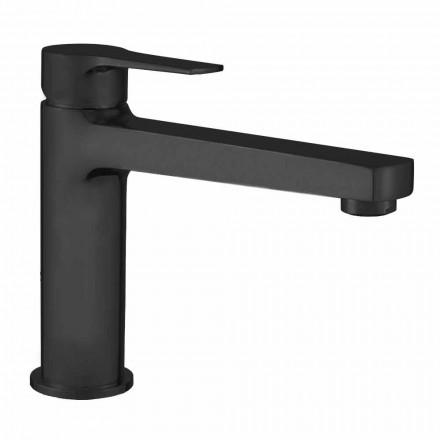 Mitigeur de lavabo avec drain en laiton Made in Italy - Sindra