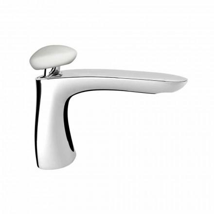 Mitigeur de lavabo en laiton moderne fabriqué en Italie - Besugo