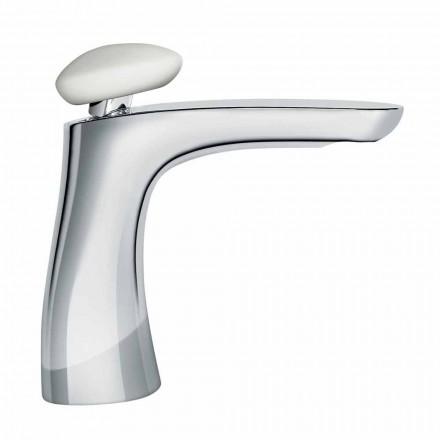 Mélangeur de lavabo en laiton de design moderne fabriqué en Italie - Besugo