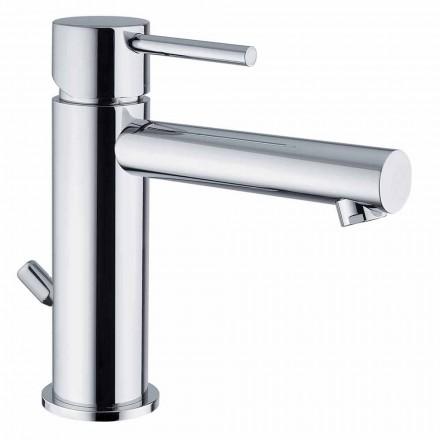 Mitigeur de lavabo en laiton finition chromée Made in Italy - Ermia