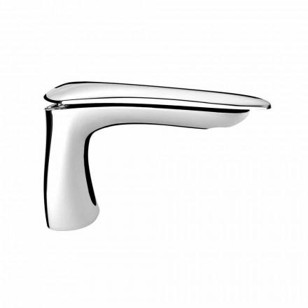 Mélangeur de lavabo en laiton de design moderne fabriqué en Italie - Miriade