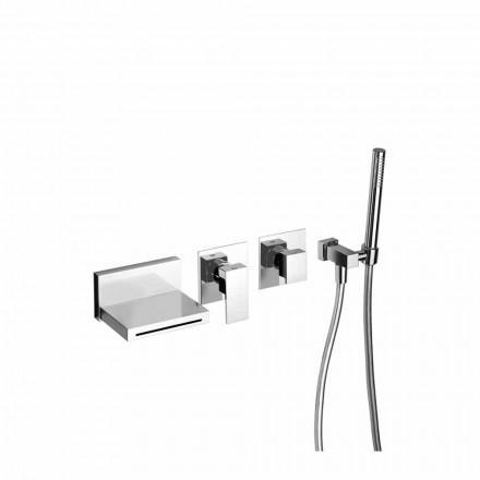 Mitigeur de baignoire encastrable design Made in Italy - Panela