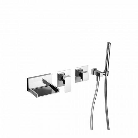 Mitigeur de bain encastrable avec kit de douche Made in Italy - Bibo