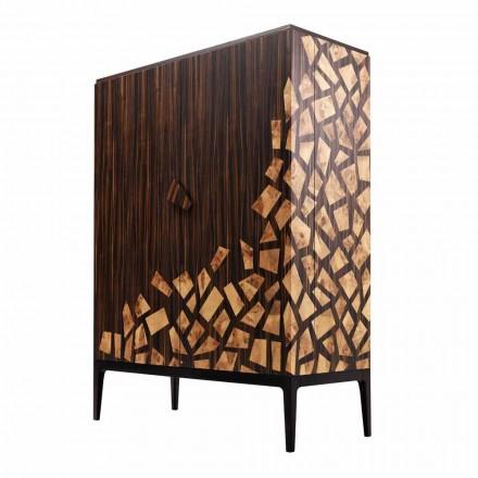 Meuble bar de design Grilli Zarafa deux portes de design moderne