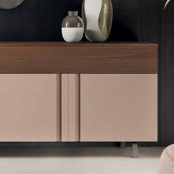 Buffet de salon en bois écologique avec tiroirs - Serris