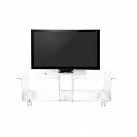 Cabinet TV Plexiglas design moderne Assistant double