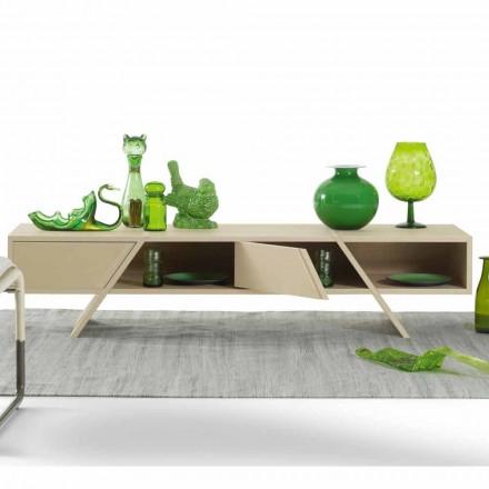 Madia moderne de design My Home Ray en Mdf laqué faite en Italie