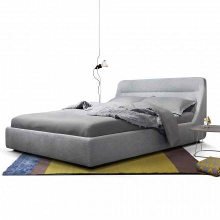 Lit double rembourré de design My Home Sleepway made in Italy
